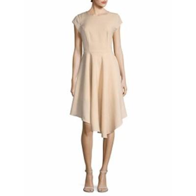 アバアンドアイデン レディース ワンピース Cap Sleeve Asymmetrical Dress