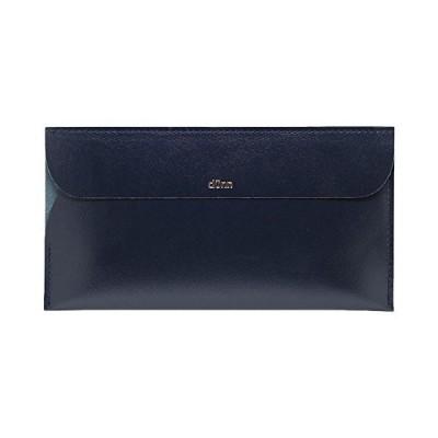 [デュン] world wallet ワールドウォレット お札入れ 長財布 (ブルーブラック) DWW01