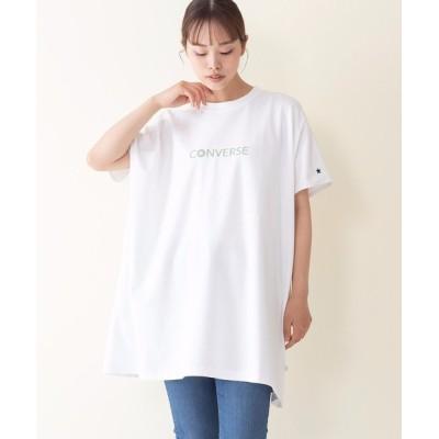 tシャツ Tシャツ 【CONVERSE/コンバース】ダブルフェイスバックプリントビッグシルエットTシャツ