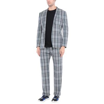 トネッロ TONELLO スーツ 鉛色 48 バージンウール 97% / ナイロン 2% / ポリウレタン 1% スーツ