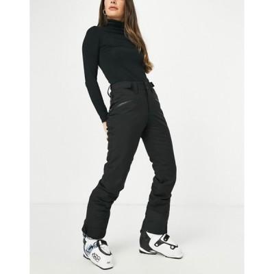プロテスト レディース カジュアルパンツ ボトムス Protest Kensington ski pant in black