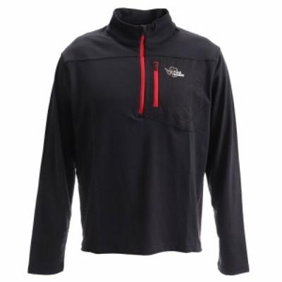 POLEWARDSジップシャツ PW27JB28BLK(Men's)
