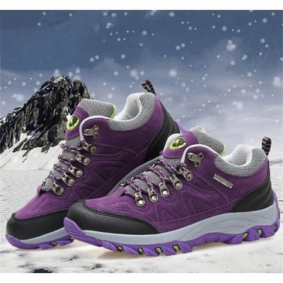 登山靴 メンズ スポーツシューズ 運動靴 シューズ ハイキング スニーカー アウトドア ウォーキング 防寒 滑り止め