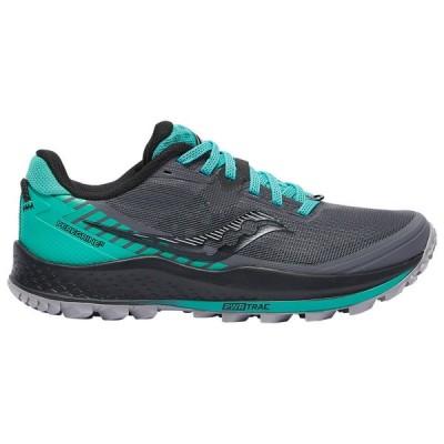 サッカニー Saucony レディース ランニング・ウォーキング シューズ・靴 Peregrine 11 Shadow/Jade