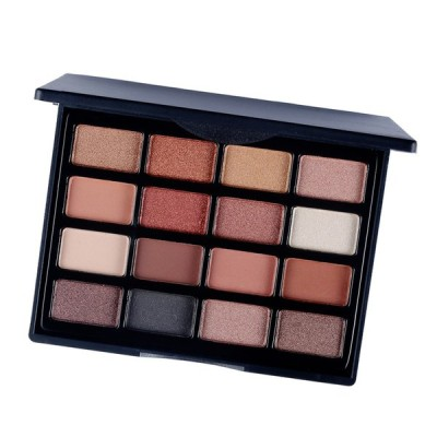 16色の美しさアイシャドー化粧パレットマットグリッターアイシャドーパレット01
