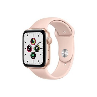Apple Watch SE GPSモデル 44mm ゴールドアルミニウムケースとピンクサンドスポーツバンド レギュラー MYDR2J/A
