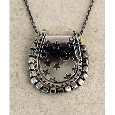 ネックレス × ANIKULAPO moon star necklace silver / アニクラポ コラボ ムーン スター ネックレス シルバー