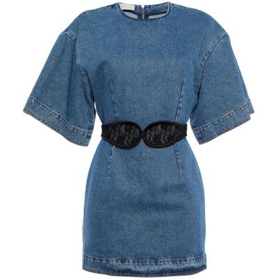 クリストファー・ケイン CHRISTOPHER KANE ミニワンピース&ドレス ブルー 38 コットン 100% / ナイロン ミニワンピース&ド