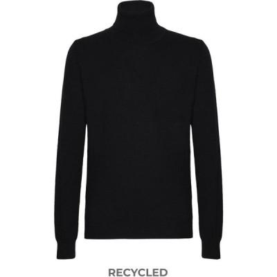 オット バイ ユークス 8 by YOOX メンズ ニット・セーター トップス cashmere blend Black