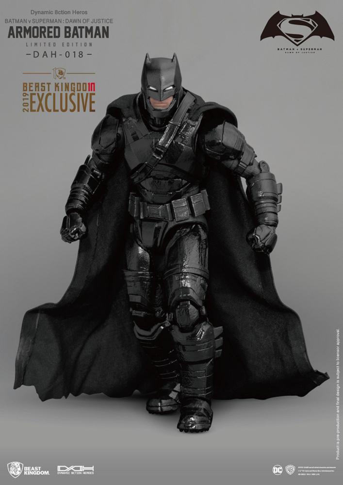 DAH-018 蝙蝠俠對超人:正義曙光 裝甲蝙蝠俠 特別配色