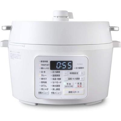 アイリスオーヤマ 電気圧力鍋 4.0L  レシピブック付き ホワイト 2020年モデル PC-MA4-W