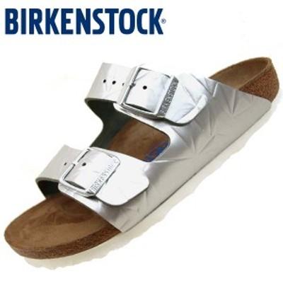 ビルケンシュトック BIRKENSTOCK Classic Arizona BS 1008480 アリゾナ スペクトラルシルバー ソフトフットベッド サンダル レディース