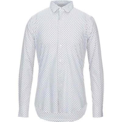 バグッタ BAGUTTA メンズ シャツ トップス patterned shirt White