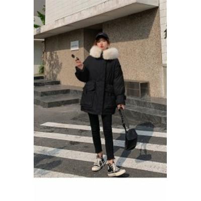 中綿コート  レディース  大きいサイズ  冬コート  ジャケット 暖かい 軽量 冬対策 保温 アウター  あったか 服 中綿 ポケット付き
