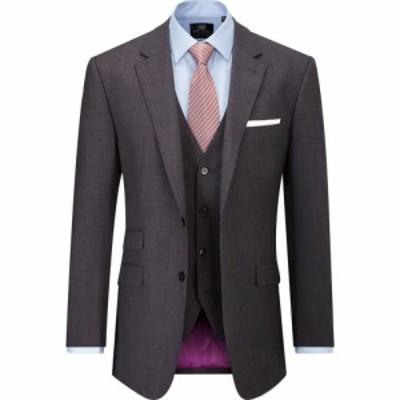 スコープス Skopes メンズ スーツ・ジャケット アウター Millard Wool Blend Suit Jacket Charcoal