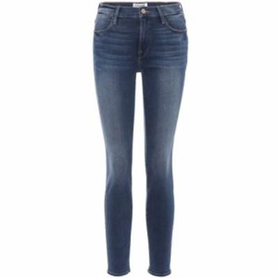 フレーム Frame レディース ジーンズ・デニム ボトムス・パンツ Le High skinny jeans Blue