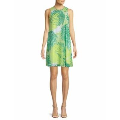 カルバンクライン レディース ワンピース Botanical-Print Mini Dress