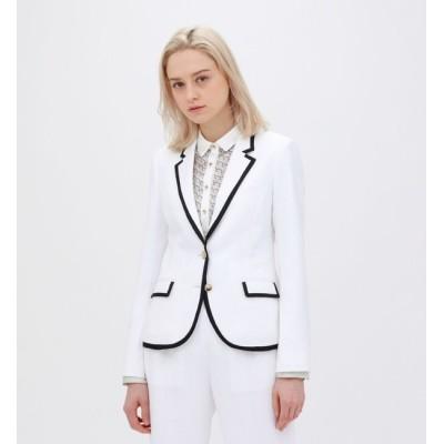 【ラブレス/LOVELESS】 ホワイト パイピングジャケット