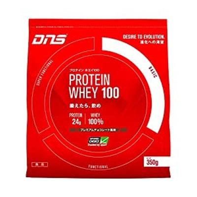 DNS プロテイン ホエイ100 プレミアムチョコレート風味 350g(約10回分) たんぱく質 筋トレ