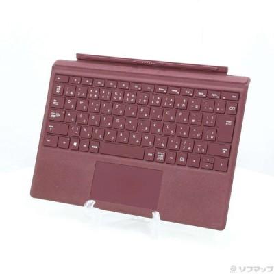 〔中古〕Microsoft(マイクロソフト) Surface Pro Signature Type Cover FFP-00059 バーガンディ〔198-ud〕