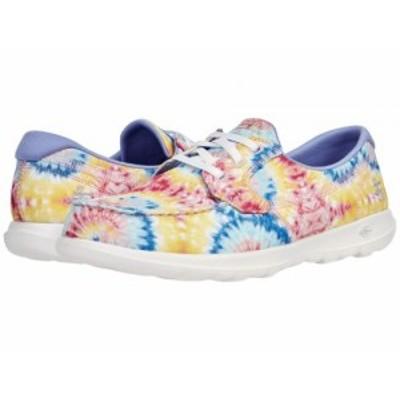 SKECHERS Performance スケッチャーズ レディース 女性用 シューズ 靴 スニーカー 運動靴 Go Walk Lite Tie-Dye Boat Shoe【送料無料】