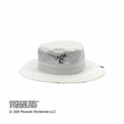 Workson ピーナッツライフワークデザイン UVケア ロゴハット ホワイト 【送料無料】(ファッション、帽子、ハット、アウトドア、UVカ