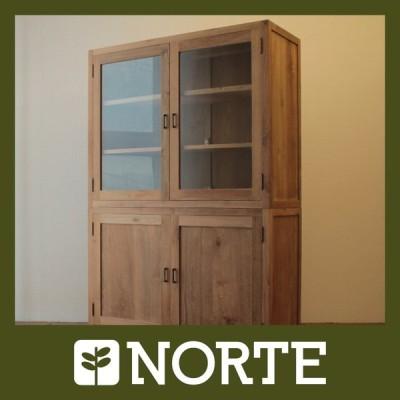 北欧家具 ダイニング ボード 存在感がある個性的で素敵なオールドチークのダイニングボード NRT-KT-120/500462