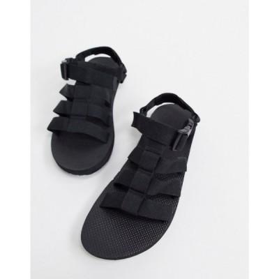 テバ Teva メンズ サンダル シューズ・靴 sandals with clasp in black ブラック