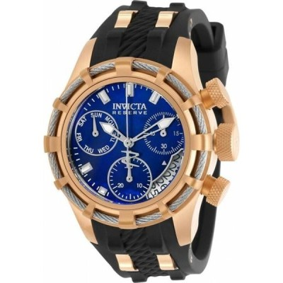 腕時計 インヴィクタ Invicta Reserve Chronograph Quartz Blue Dial Ladies Watch 30533