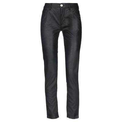 トラサルディ ジーンズ TRUSSARDI JEANS パンツ ブラック 24 レーヨン 100% / ポリウレタン樹脂 パンツ