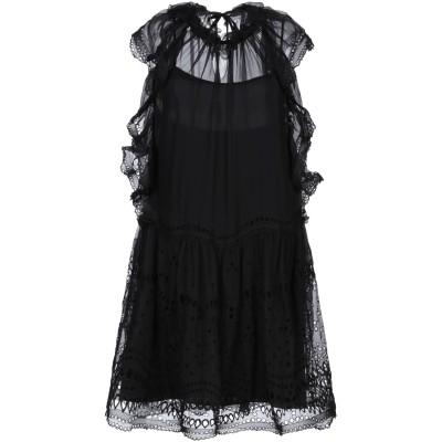 アルベルタ フェレッティ ALBERTA FERRETTI ミニワンピース&ドレス ブラック 38 アセテート 84% / シルク 10% / ポリ