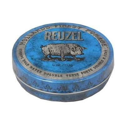 ルーゾー REUZEL STRONG HOLD HIGH SHEEN ストロングホールド ブルー 113g
