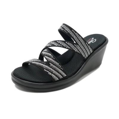 スニーカー スケッチャーズ SKECHERS RUMBLERS-MEGAFLASH ブラック/シルバー 32925-BKSL レディース シューズ 靴 20SS