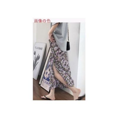 【送料無料】夏 韓国風 ファッション サイド 引きひも スカート(中   346770_A63365-4607666