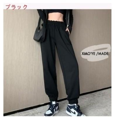 【送料無料】ファッション レディース レジャー 収 口 スウェットパンツ 何でも似合う | 364331_A62747-8478652