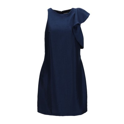 メルシー ..,MERCI ミニワンピース&ドレス ダークブルー 46 ポリエステル 55% / ナイロン 45% ミニワンピース&ドレス