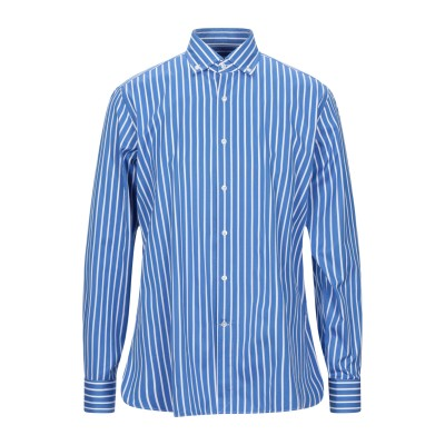 SONRISA シャツ ブルー L コットン 100% シャツ