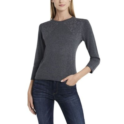 ヴィンスカムート レディース ニット・セーター アウター Women's Studded Shoulder Sweater