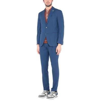 ラルディーニ LARDINI スーツ ブルー 50 コットン 100% スーツ
