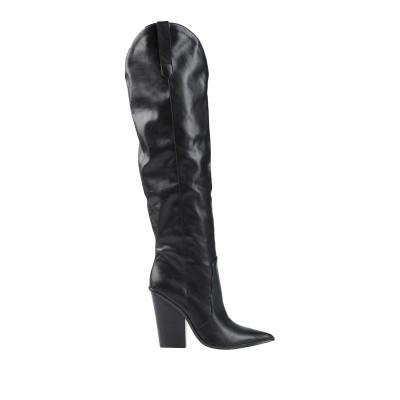 スティーブ マデン STEVE MADDEN ブーツ ブラック 6 紡績繊維 ブーツ