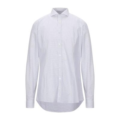 マニュエル リッツ MANUEL RITZ シャツ ホワイト 43 コットン 100% シャツ