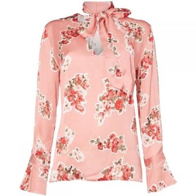 イブルース Iblues レディース ブラウス・シャツ トップス Ebro printed blouse Pink