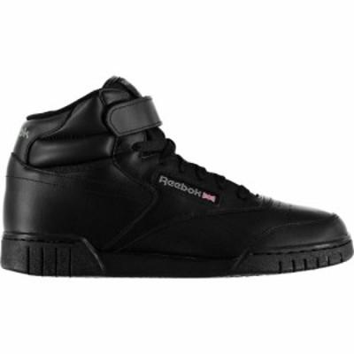 リーボック Reebok Lifestyle メンズ スニーカー シューズ・靴 Exofit Hi Top Trainers Black