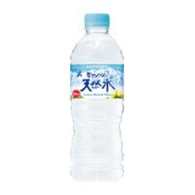 サントリー天然水 550ml×24本 (MWL5F)