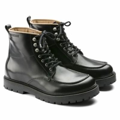 ビルケンシュトック ブーツ メンズ レザー シューズ 革靴 本革 トローネス ブラック レギュラーフィット(幅広) BIRKENSTOCK Trones 即納