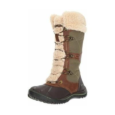 ブーツ ジャンブー レディース Jambu Women's Broadway Waterproof Snow Boot, Brown, 6.5 M US