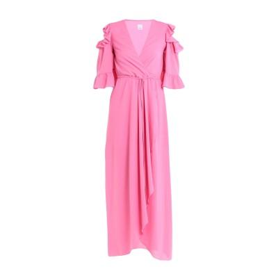 ピンコ PINKO ロングワンピース&ドレス ピンク 44 ポリエステル 100% ロングワンピース&ドレス