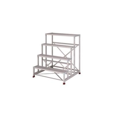 YAMAZEN(山善) 組立式 アルミ作業台 四段タイプ YPS-4-100120