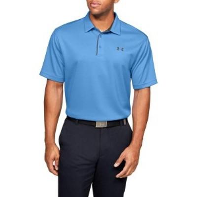 アンダーアーマー メンズ シャツ トップス Under Armour Men's Tech Golf Polo Carolina Blue