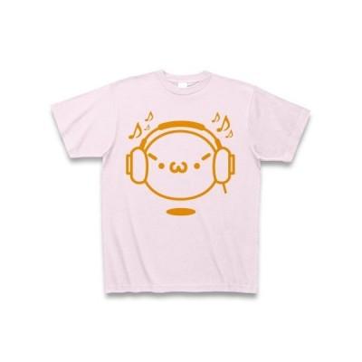 【音楽】シャキーンmusicバージョン2/オレンジ Tシャツ(ピーチ)